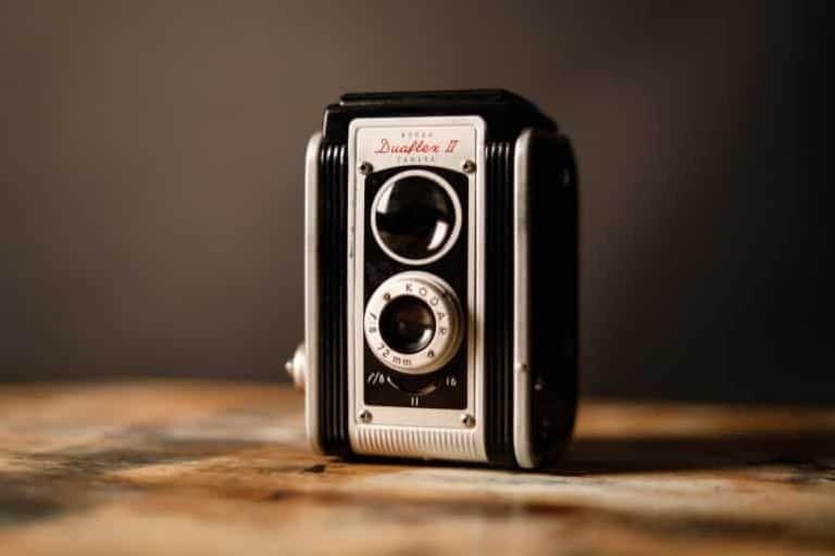 Analoge Filmkamera