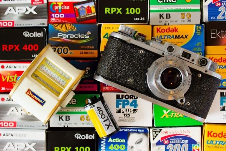 Kamera, Film, Zubehör