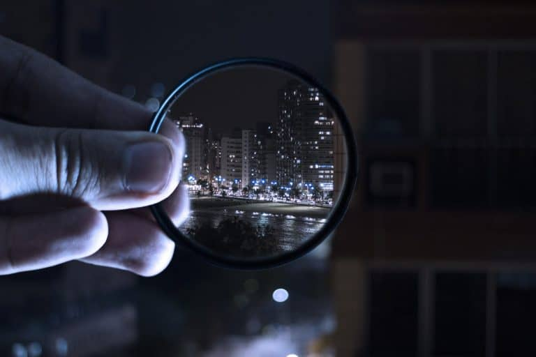 Kunstvolles Foto mit Filter