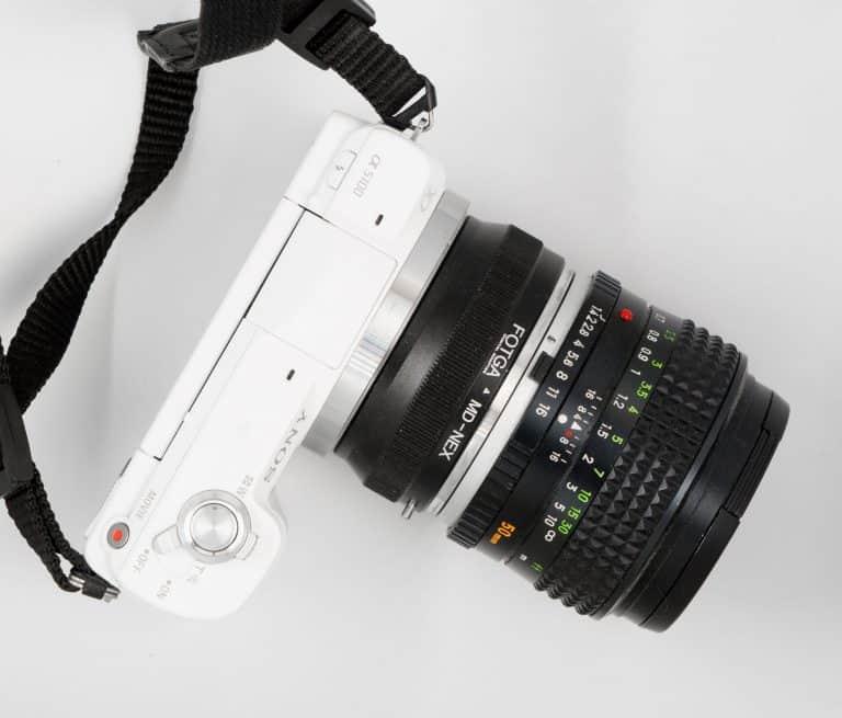 Superzoom Kamera von oben