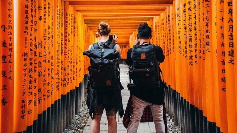 Fotorucksack Japan