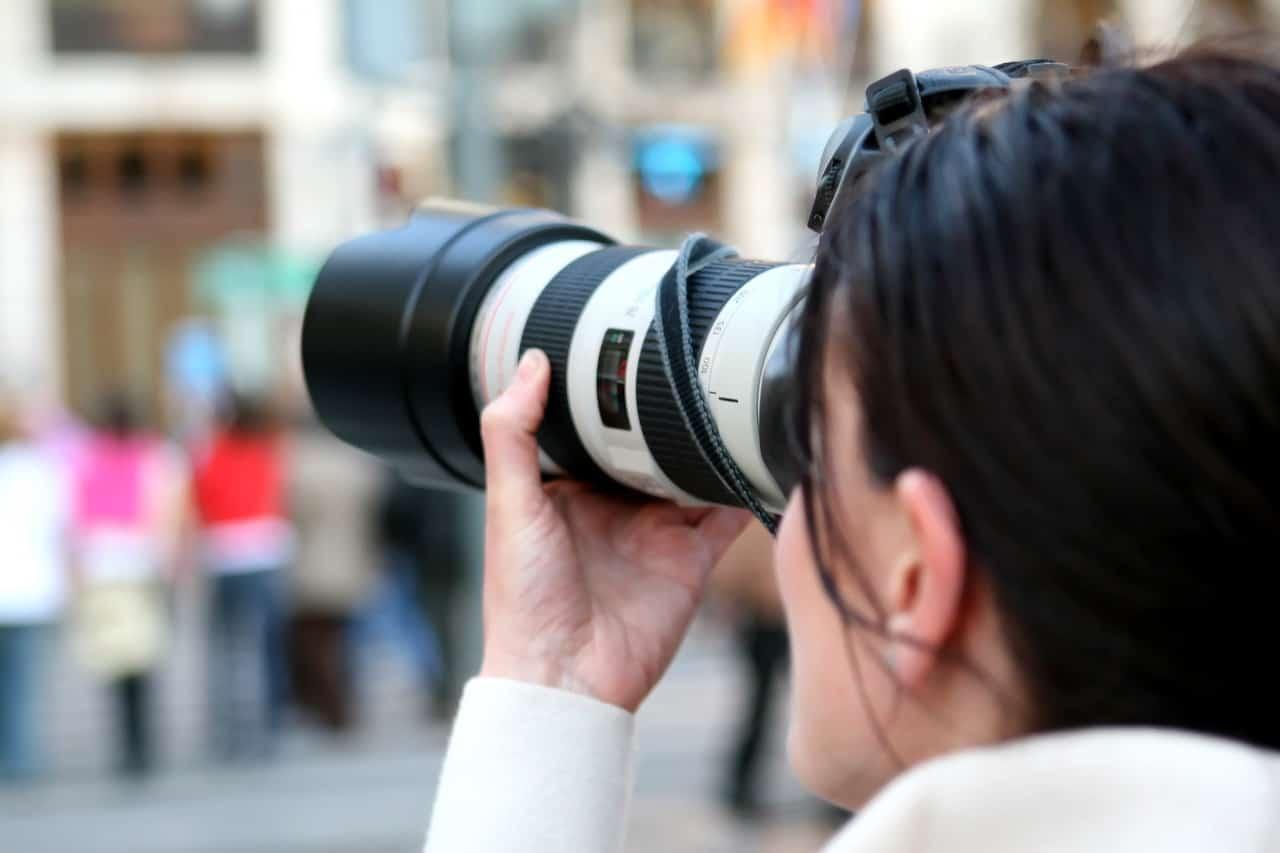 Fotografieren mit Gegenlichtblende