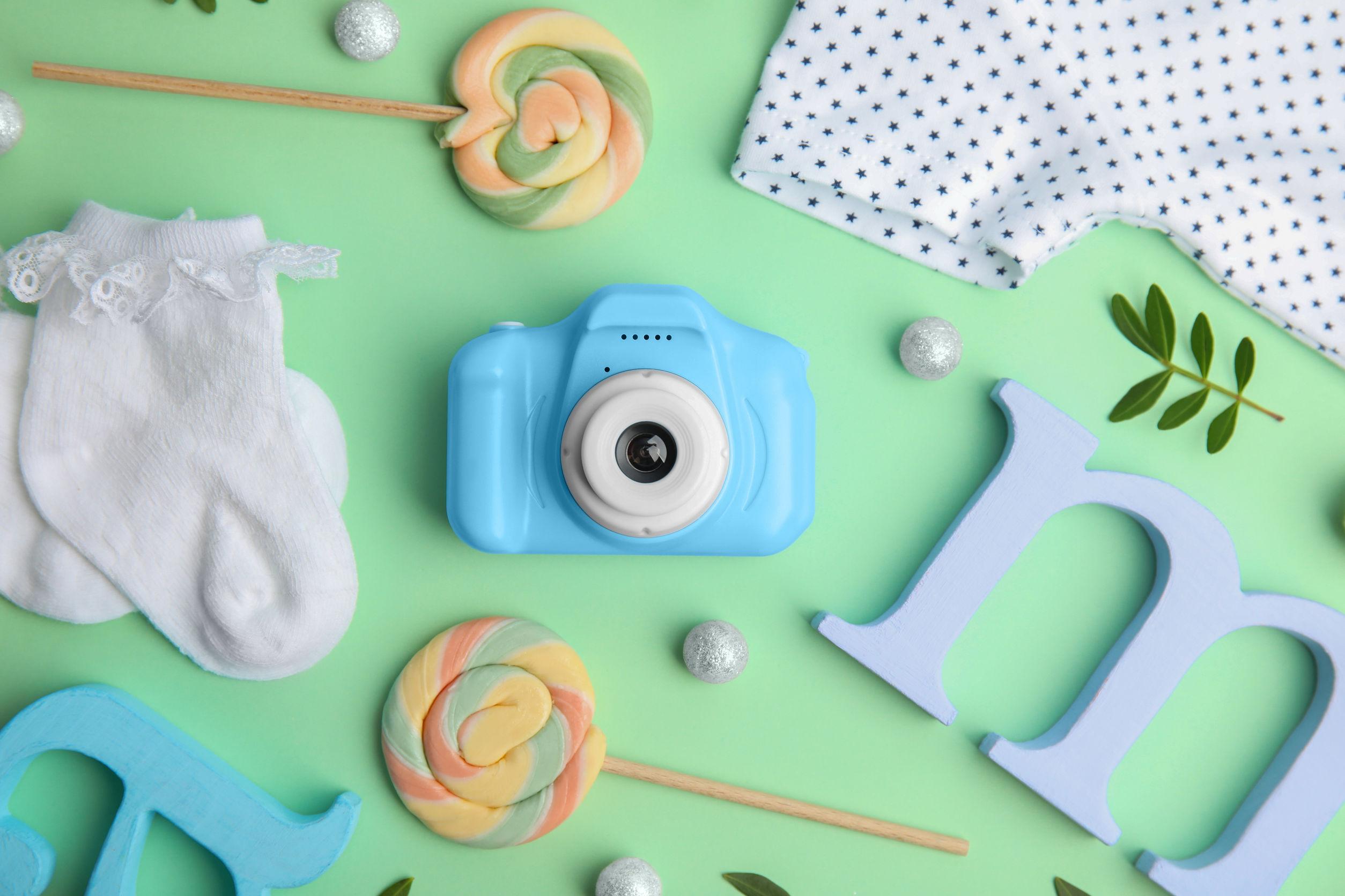 Fotoapparat-Kinder